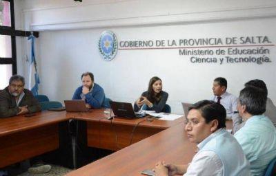 Segundo Round: los gremios docentes se reunieron con Berruezo