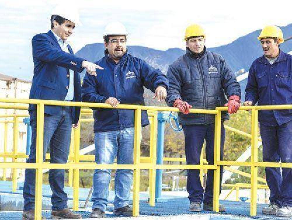 Aguas Riojanas amplió capacidad operativa de planta potabilizadora