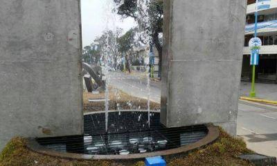 Monumento al Bicentenario: La Municipalidad ya reparó la fuente y el sistema de iluminación
