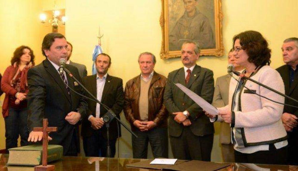 Fidel Sáenz asumió como Secretario de la Vivienda