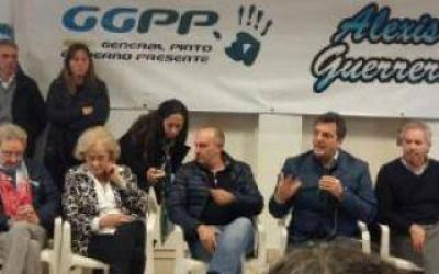 General Pinto: Alexis Guerrera selló su ingreso al FR con la visita de Massa