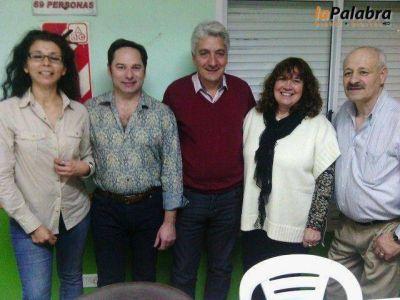 La Agrupaci�n La Juan Domingo se reuni� con el intendente Jos� Luis Zara