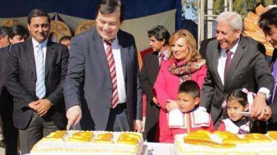 Con la inauguraci�n de obras, Sol de Julio festej� su 100� aniversario