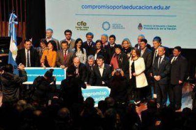 Chaco se unió al Pacto de Compromiso por la Educación