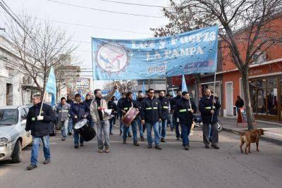 Nocetti mandó una carta documento a Luz y Fuerza por las protestas con bombas de estruendo y sirenas
