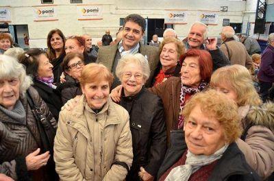 Jorge Macri entregó pensiones y jubilaciones en Vicente López