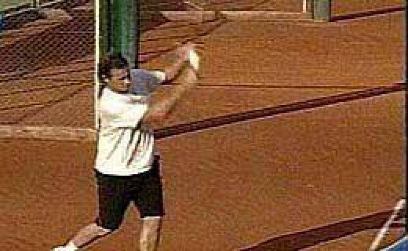Nalbandian volvió a los entrenamientos.