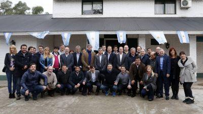 Encuentro de intendentes y legisladores Peronistas