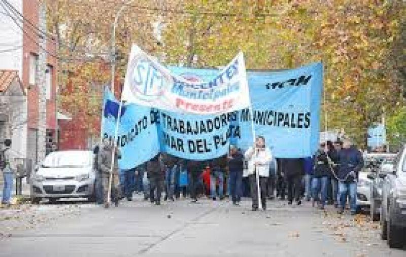 Sindicalistas municipales temen decidir un nuevo paro y que dicten la conciliaci�n obligatoria
