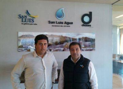 San Luis Agua y el Municipio quieren limpiar el canal 0