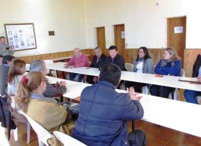 El Gobierno coordinó tareas con intendentes del departamento Pedernera