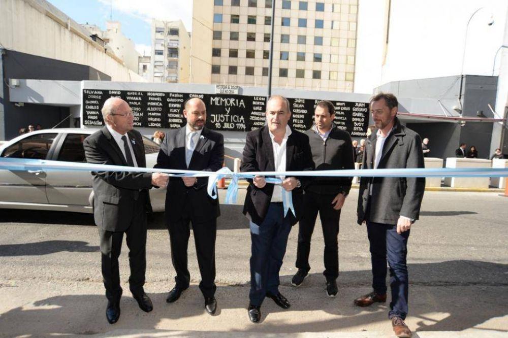 La AMIA inauguró las obras del Entorno Pasteur junto al Gobierno de la Ciudad de Buenos Aires