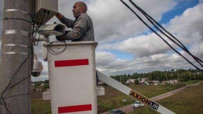 El Municipio cree que esta semana terminaría de instalar mil cámaras de seguridad