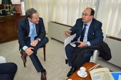 Salom�n se reuni� con el Ministro de Justicia de la Provincia de Buenos Aires para hablar sobre el Juzgado de Garant�as