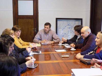 El Intendente se reunió con la Mesa Local contra la Violencia