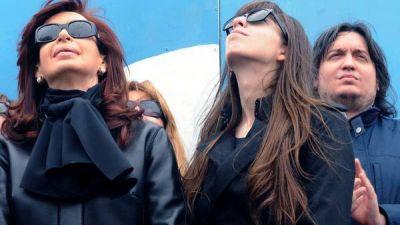 Florencia Kirchner, socia y empleada de una firma sospechada