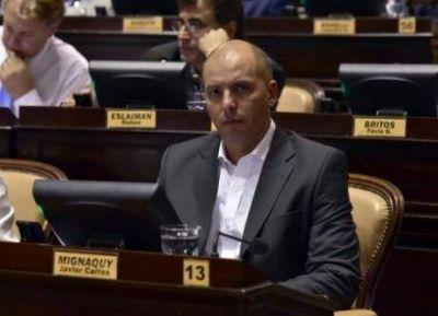 El diputado massista por la cuarta sección, Javier Mignaquy, y el impacto de las tarifas en Pymes
