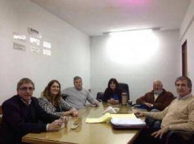 Directivos de CECOIN con representantes de Enargas y Oceba por el aumento de las tarifas