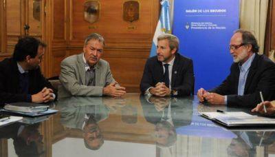 El ministro Frigerio recibió a Schiaretti y al nuevo intendente de Río Cuarto