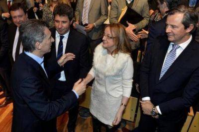 El presidente Macri y Alicia cara a cara