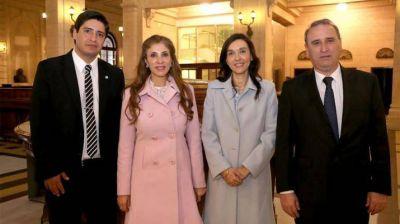 La gobernadora participó de acto presidido por Macri