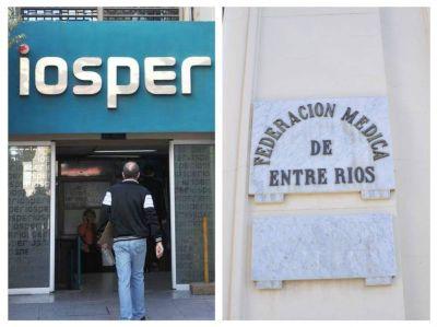 El Iosper aumentó un 10 por ciento el valor de las prestaciones a la Federación Médica