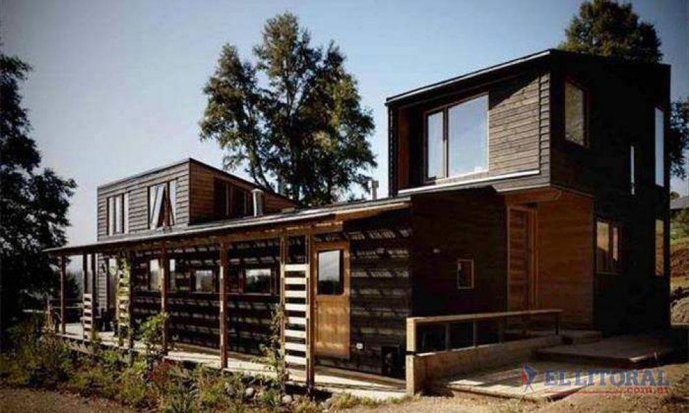 Promueven la construcción de casas de madera en Corrientes