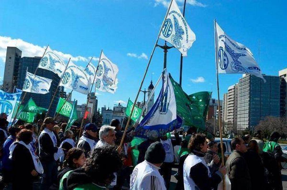 ATE Zona Norte presente en la marcha al Ministerio de Salud