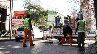 Estacionamiento medido: comenzaron las obras
