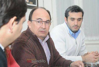 El Intendente Salom�n se reuni� con el Ministro de Justicia de la Provincia de Buenos Aires