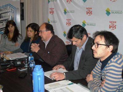 Se firm� importante convenio para obras en el barrio 96 Viviendas