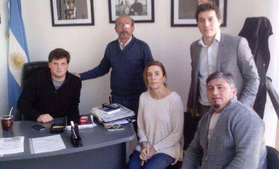Legisladores del FpV recibieron a trabajadores del exSadowa