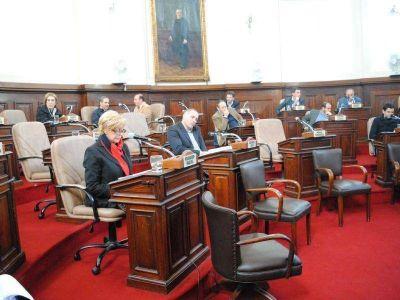 Concejo: La Plata adhirió a las leyes provinciales de emergencia