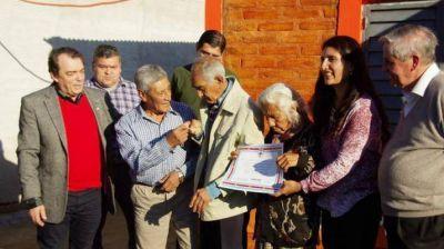 Continúa la entrega de viviendas sociales en La Cañada