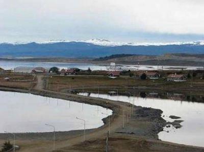 Se inicia el saneamiento de la Bahía de Ushuaia