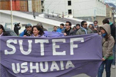 El SUTEF convocó al paro y movilizará hacia la Legislatura