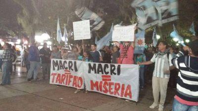 Posadas se sumó a la protesta contra el tarifazo nacional