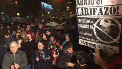 Entre R�os protest� contra los tarifazos