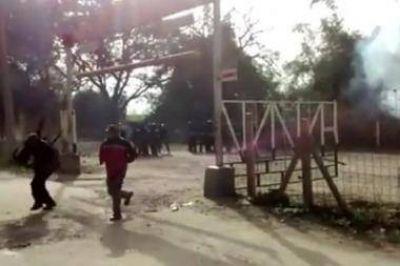 Represión policial y heridos en el Ingenio Ledesma