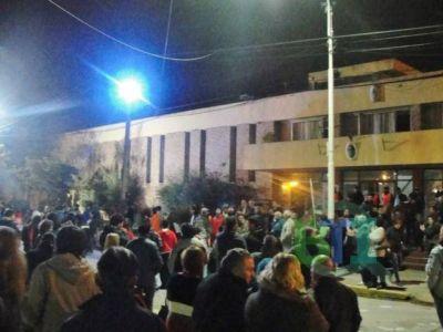#14J. Baradero se manifestó contra los tarifazos