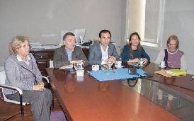 Junín: Petrecca recibió al secretario de Derechos Humanos bonaerense