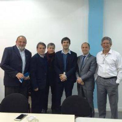 Luis Obeid e industriales chaqueños impulsaron gestiones para Chaco en Buenos Aires