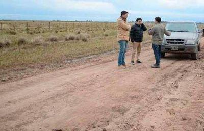 Entoscado de caminos rurales, prioridad municipal