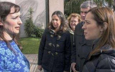Vidal, Pe�a y otros funcionarios de Macri salieron a