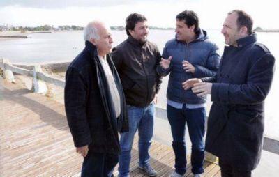 """Abad con Perechodnik en Mar Chiquita: """"Estamos ante un verdadero shock de infraestructura para la región"""""""