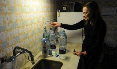 Casi el 50% de los hogares del Conurbano todav�a no tiene agua corriente ni cloacas