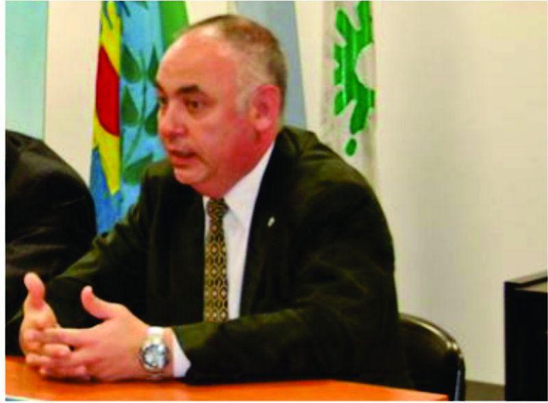 El Intendente Gastón se reunió con el Presidente del Colegio de Ingenieros Distrito V