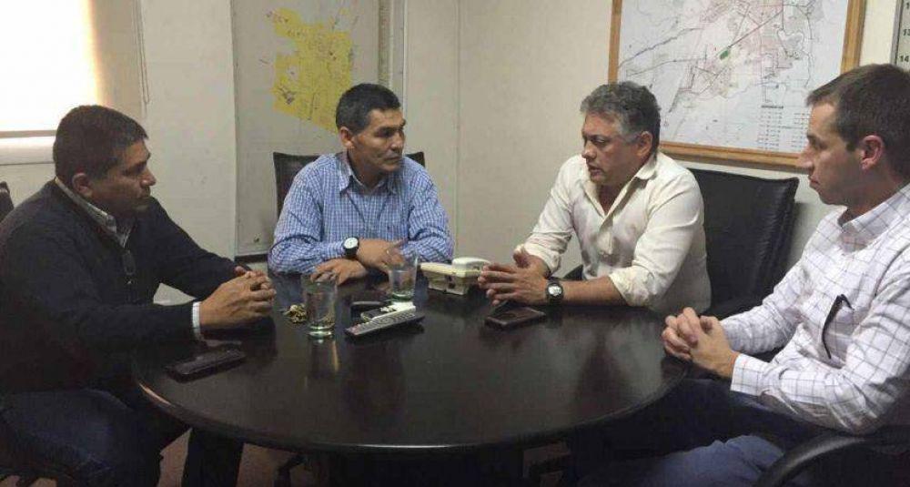 Reunión de la UTA con directivo de SAETA por la seguridad en los colectivos