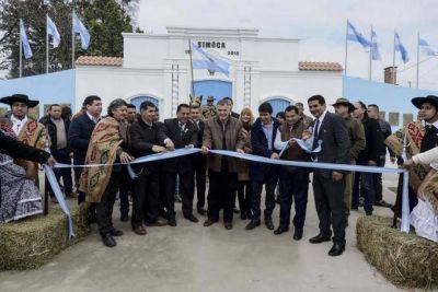 Jaldo inauguró una réplica de la Casa Histórica en Simoca