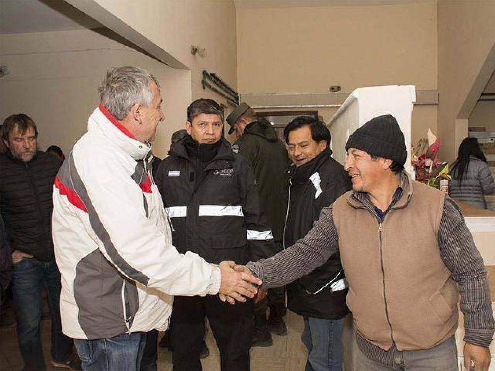 Jama – Morales gestiona recursos para el Complejo Integrado